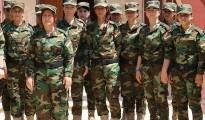 Êzîdîsches Frauenbataillon im Nordirak (Owen Holdaway)