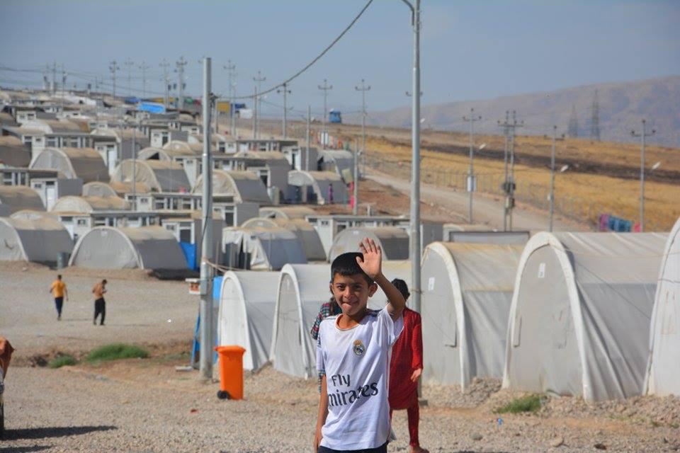 Êzîdîsche Flüchtlinge im Mamilian-Flüchtlingslager im Nordirak (ÊP)