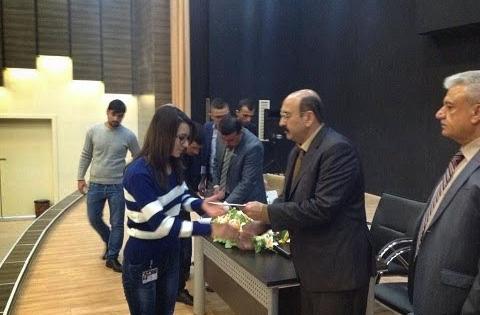 Verteilung von Finanzhilfen an êzîdîsche Studenten der Universität Duhok