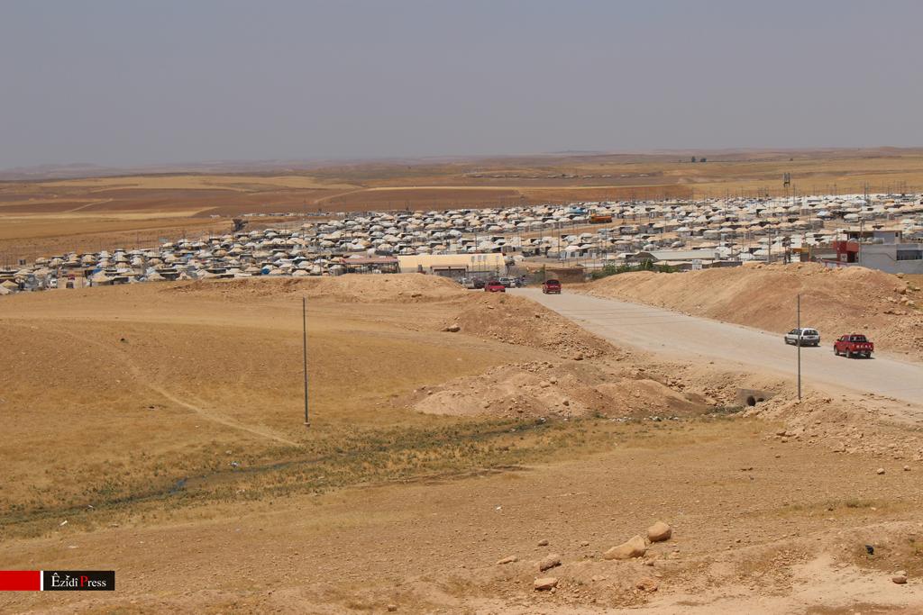 Êzîdîsches Flüchtlingslager in der Provinz Duhok im Nordirak (ÊP)