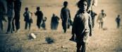 Êzîdîsches Mädchen auf der Flucht vor den Terror-Schergen des IS in Shingal (Rodî Saîd)
