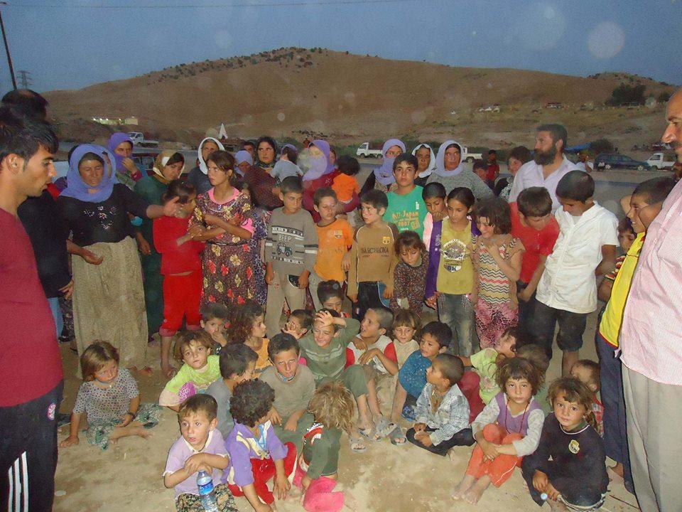 Flüchtlingskinder im Irak