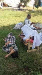 Flüchtlinge im Camp von Silopî | ÊP