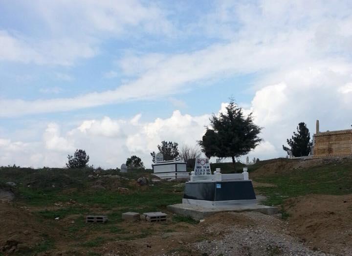 Êzîdîscher Friedhof Hacrê in der Türkei