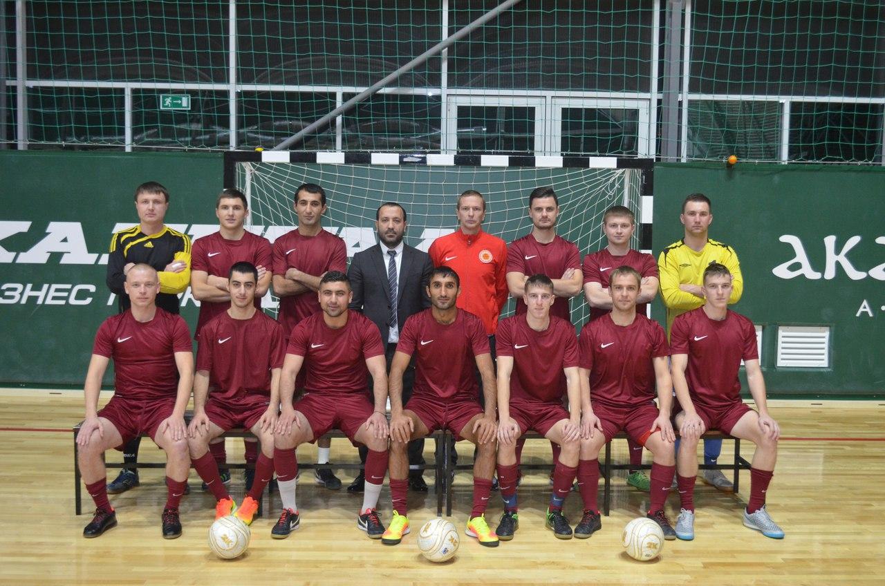 """Futsal-Fußball Verein """"Êzîden"""" aus der russischen Stadt Rjasan"""