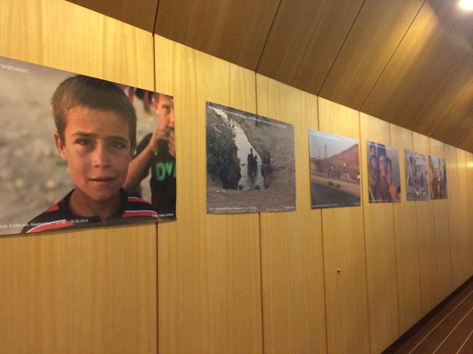 Bilder aus ezidischen Flüchtlingslagern | GEA Delegation