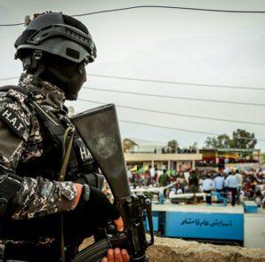 Mitglied der Anti-Terror-Einheit der kurdischen YPG in Rojava (H.A.T)