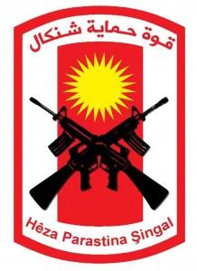 Wappen der Verteidigungseinheit Shingal (HPŞ)
