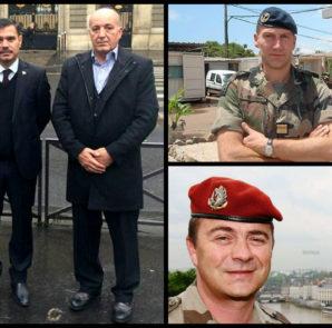 HPÊ-Oberkommandeur Heydar Shesho ist in Paris mit Militärs der französischen Marine zusammengetroffen
