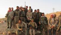 Kämpfer der Verteidigungseinheit Shingal (HPŞ)