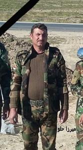 Heci Atto Seydo, êzîdîscher Peshmerga der SKE-Einheit, der heute in Shingal getötet wurde