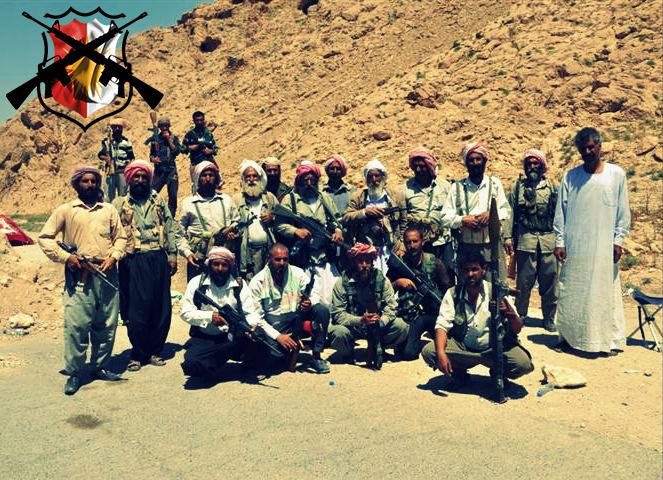 Kämpfer der êzîdîschen Widerstandseinheit in Shingal |ÊP