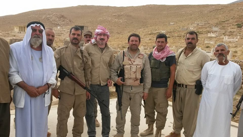 Êzîdîsche Verteidigungseinheit in Shingal