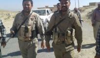 Kommandeure der êzîdîschen Verteidigungseinheiten: Sheikh Dawud (li.) und Heyder Shehso
