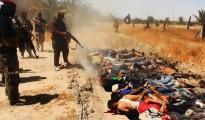ISIS Terroristen massakrieren irakische Soldaten
