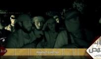 ISIS Terroristen kurz vor ihrem Angriff