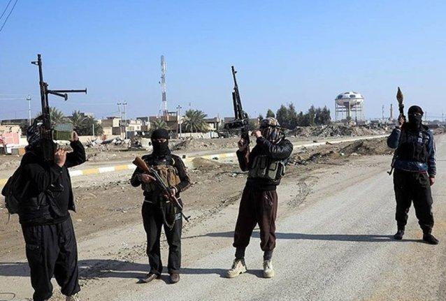 ISIS Terroristen in Mosul