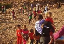Flüchtlinge aus Shingal