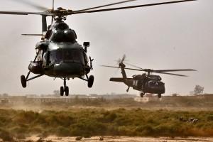 Helikopter der irakischen Luftwaffe