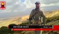 Heydar Shesho, Oberkommandant der Verteidigungseinheit Shingal (HPŞ)