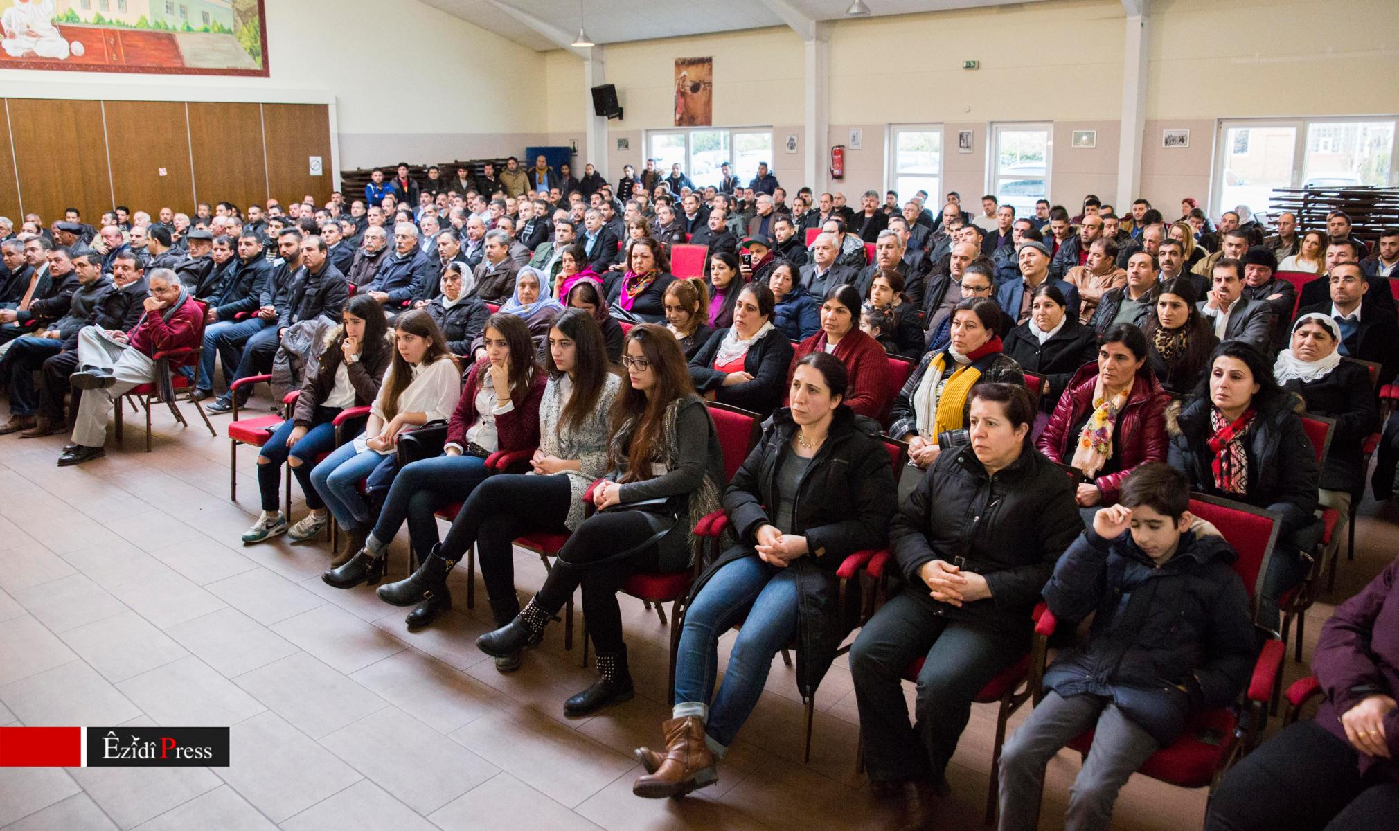Informationsveranstaltung mit HPŞ-Oberkommandeur Heydar Shesho am 11. Januar 2014