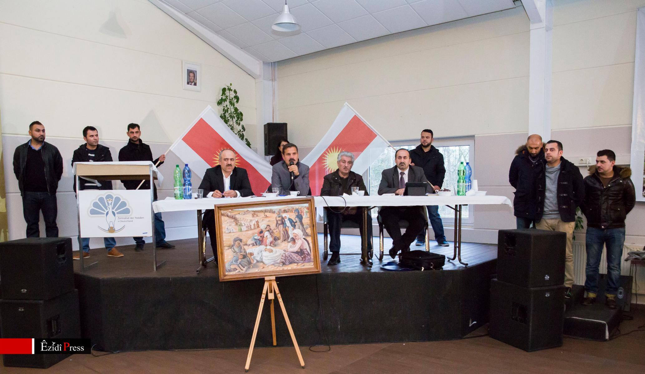 Informationsveranstaltung von Heydar Qaso Shesho in Oldenburg am 11. Januar
