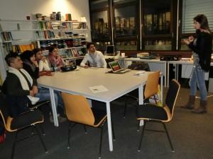 Studierende des Kurdischkurses an der Universität Bremen