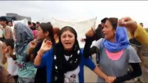 Demonstration in Zakho