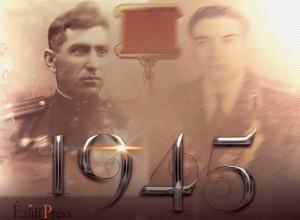 Êzîdîsche Helden im Zweiten Weltkrieg: (li.) General Semend Elî Siyabandov und Brigadegeneral Celîlê Shekro