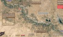 Betroffene Dörfer entlang des Khabour-Flusses (via @LCarabinier)