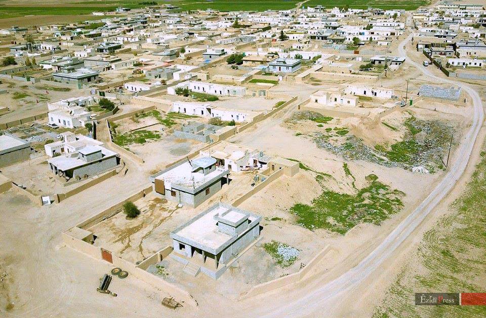 Das Dorf Kocho im Süden Shingals: Hier massakrierte die Terrormiliz IS 600 êzîdîsche Männer