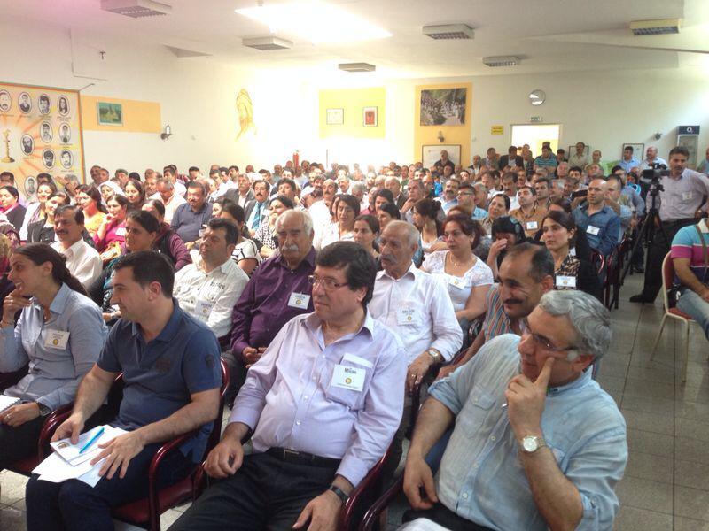 Delegierte des 9. Kongresses der FEK |© ÊzîdîPress