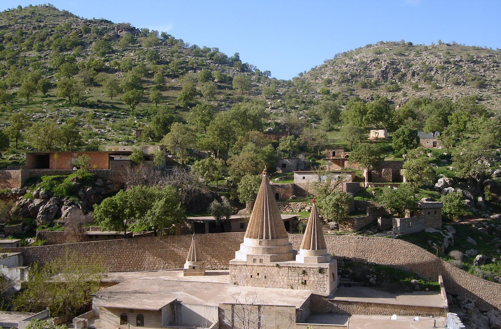 Heilige Tempel der Jesiden Lalish