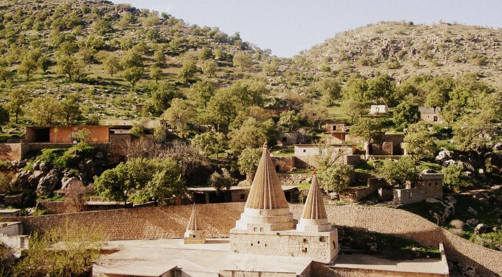 Lalish, das spirituelle und weltliche Zentrum der êzîdîschen Volksgemeinschaft