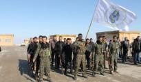 Kämpfer der christlichen Miliz MFS in Syrien (SyriacNews)