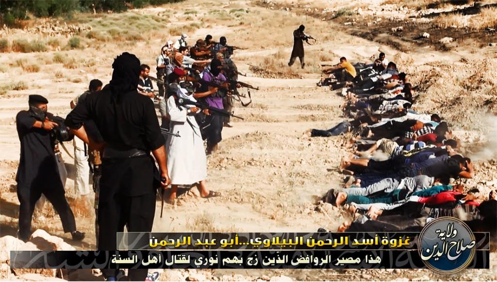 ISIS massakriert schiitische Studenten in Tikrit