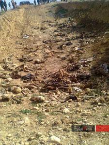 Massengrab im Norden Shingal
