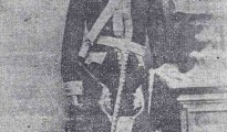 Mir Hussein Beg (1828 – 1879), ein Nachfahre von Hussein Beg Dasini, ca. im Jahr 1870 als aktives Oberhaupt aller Yeziden