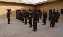 Kämpfer der YBŞ Einheit in Shingal