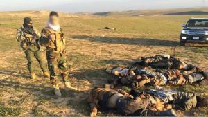 Von Peshmerga-Einheiten nahe Tal Afar getötete IS-Terroristen