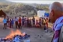 Aus Protest: Pir Khidir verbrennt Bücher | RûdawTV
