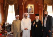 Erstmals Empfing der Patriarch von Konstantinopel eine êzîdîsche Delegation (ÊP)
