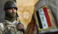 Irakische Soldaten des 4. Battalions, 2. Brigade, 5. Division nahe Buhriz (Staff Sgt. Stacy L. Pearsall, USAF)