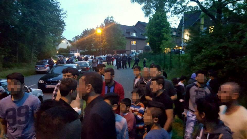 In Bielefeld kam es am Samstagabend zu einer Schlägerei zwischen Êzîden und Tschetschenen