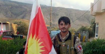 HPÊ-Widerstandskämpfer Sabah Ibrahim in Shingal (privat)