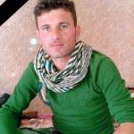 Saleh Mirza, HPŞ-Kämpfer, während der Offensive in Shingal gefallen ist