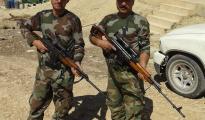 Scharfschützen der HPŞ in Solakh