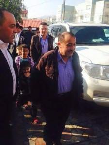 Auf freiem Fuß: Serbest Bapîrî nach seiner Entlassung