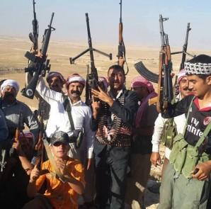 Êzîdîsche Kämpfer der Verteidigungseinheit Shingals