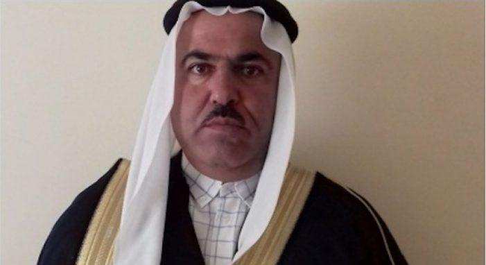 Sheikh Kasim Al-Metweti, Stammesführer des Metweti-Clans